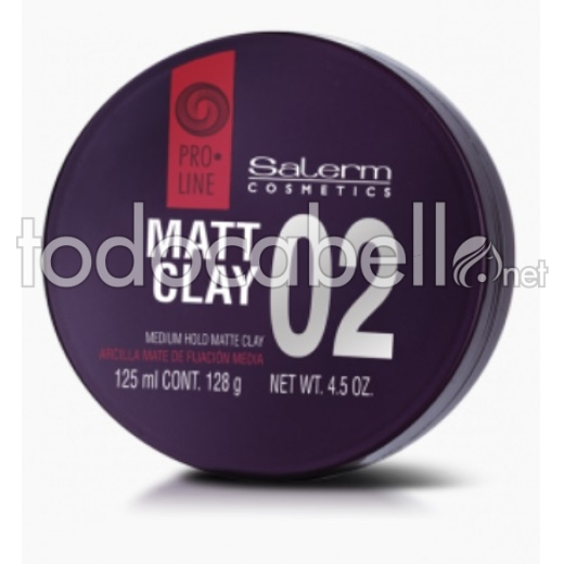 Salerm Pro.line Matt Clay Arcilla mate 125ml