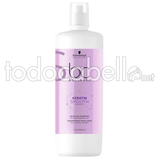 Schwarzkopf Bonacure BC Keratin Smooth Perfect Champú Micelar 1000 ml