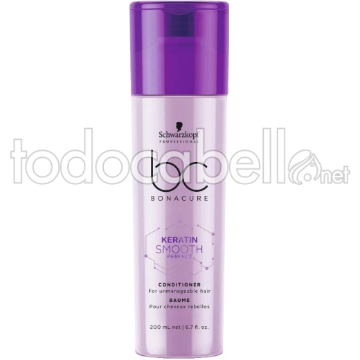 Schwarzkopf Bonacure BC Keratin Smooth Perfect Acondicionador 200 ml
