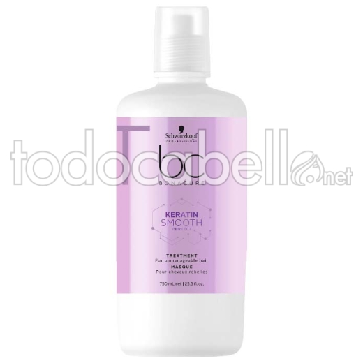 Schwarzkopf Bonacure BC Keratin Smooth Perfect Tratamiento 750 ml