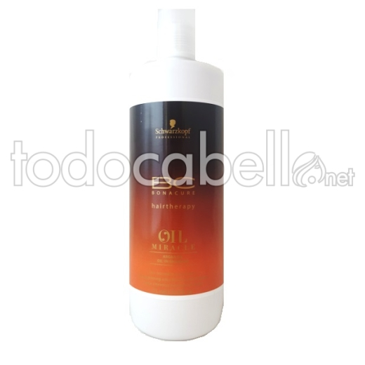 Schwarzkopf BC Oil Miracle Argán Oil-in-Shampoo cabello normal-grueso 1000ml