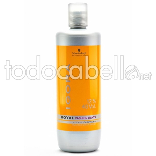 Schwarzkopf Oxigenada 12% 40vol. Loción Activadora Fashion Lights 1000ml