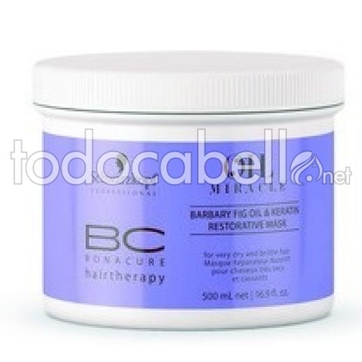 Schwarzkopf BC Oil Miracle Barbary Fig Oil Mascarilla Restauradora 500ml