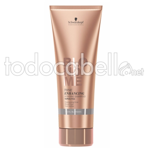 Schwarzkopf Blondme Bonding Champú Rubios Fríos. Sin Sulfatos 250ml