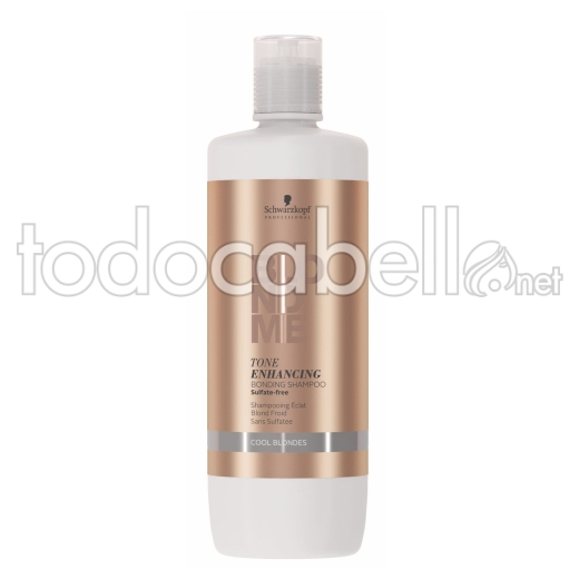 Schwarzkopf Blondme Bonding Champú Rubios Fríos. Sin Sulfatos 1000ml