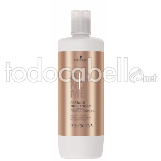 Schwarzkopf Oxigenada. Blondme Premium Developer. Revelador 9% 30vol. 1000ml