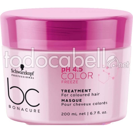 Schwarzkopf Bonacure BC pH4.5 Color Freeze Tratamiento 200 ml