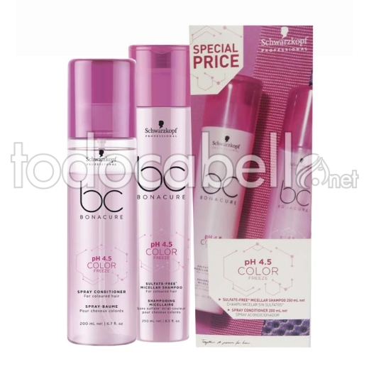 Schwarzkopf Color Freeze Champú y Acondicionador en spray