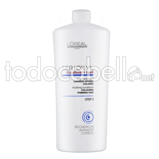 L´Oreal Serioxyl GlucoBoost+Incell Acondicionador Cabello finos Coloreados 1000ml