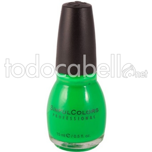Esmalte de Uñas Sinful Colors Irish Green nº 198  15ml