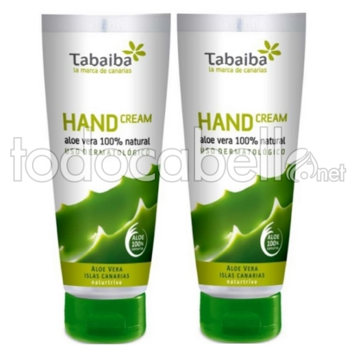 Tabaiba Pack Duo Crema de Manos 2x100ml