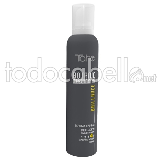 Tahe Botanic Styling Brilliance Espuma fijación 4 300ml