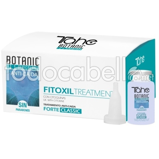 Tahe Tricology Fitoxil Forte Tratamiento Anticaída 5x10ml