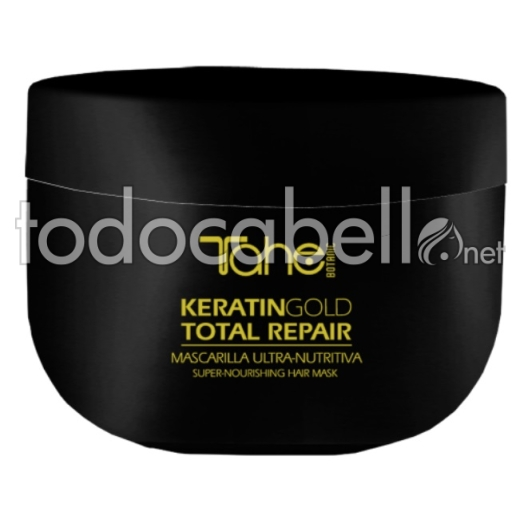 Tahe Keratin Gold. Mascarilla Total Repair 300ml