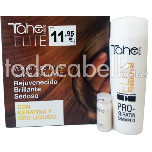 Tahe Elite Pack Pro-Keratin  Champú 250ml + Tratamiento 5x10ml