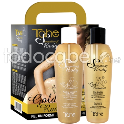 Tahe Pack Gold Radiance Sensations Body