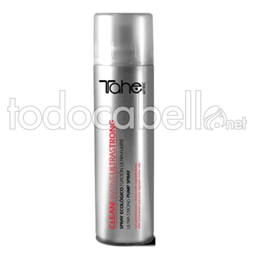 Tahe  Spray ecológico Clean Fixative Ultrastrong 250ml.