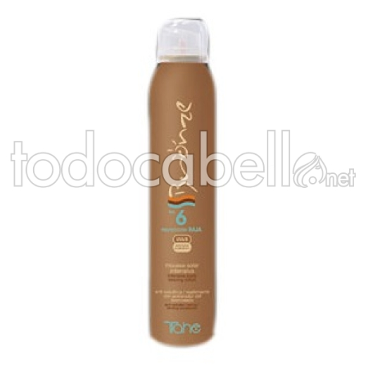 Tahe Bronze Mousse Solar Intensiva. SPF 6 200ml