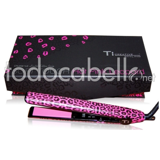 Ti-Creative Styling Plancha Cruise 4.0 Hot Pink Leopard