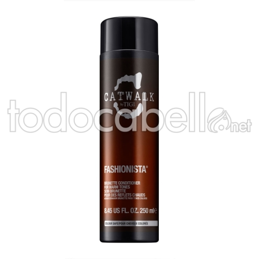 Tigi Fashionista Brunette Conditioner 250 Ml