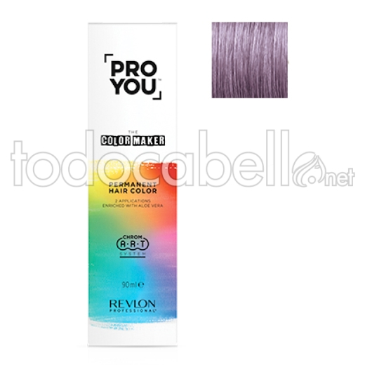 Revlon tinte PRO YOU THE COLOR MAKER 10.22 Rubio Platino Violeta Intenso 90ml
