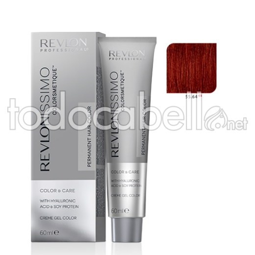 Revlon Tinte Revlonissimo Colorsmetique 55.64 C5 Rojo Oscuro Cobrizo Intenso 60ml.