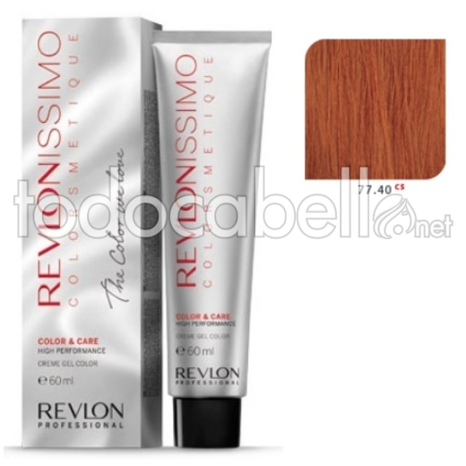 Tinte Revlonissimo Colorsmetique 55.60 C5 Rojo Oscuro Intenso 60ml.