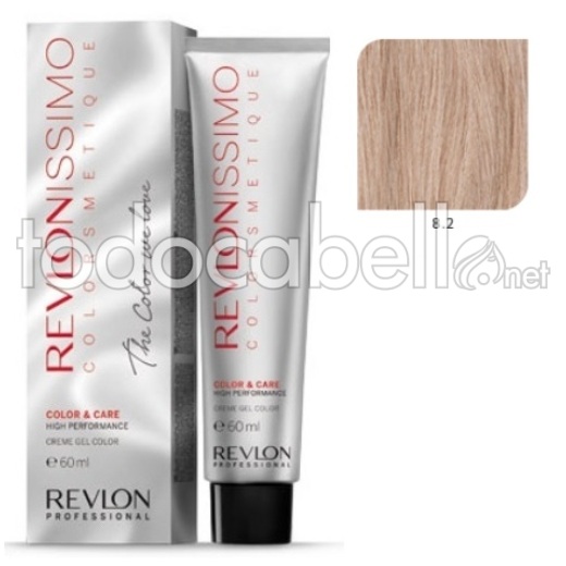 Tinte Revlonissimo Colorsmetique 8.2 Rubio Claro Irisado 60ml.