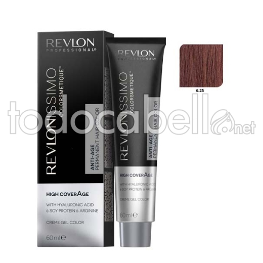Revlon Tinte Revlonissimo Colorsmetique High Coverage 6.25 Rubio Oscuro Chocolate 60ml