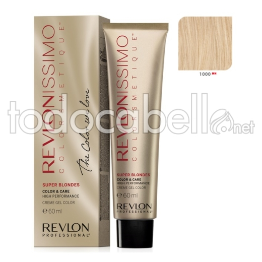 Tinte Revlonissimo Colorsmetique Superblondes 1000 MN Natural 60ml