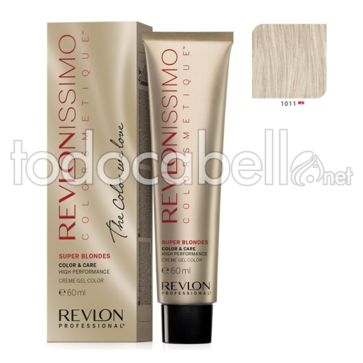 Tinte Revlonissimo Colorsmetique Superblondes 1011 MN Ceniza 60ml