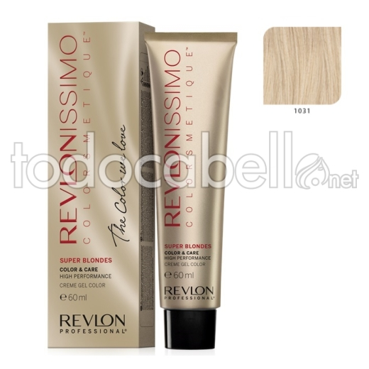Tinte Revlonissimo Colorsmetique Superblondes 1031 Beige 60ml