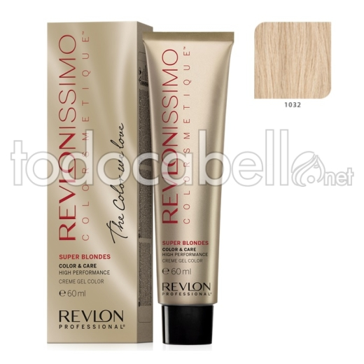 Tinte Revlonissimo Colorsmetique Superblondes 1032 Nacarado 60ml