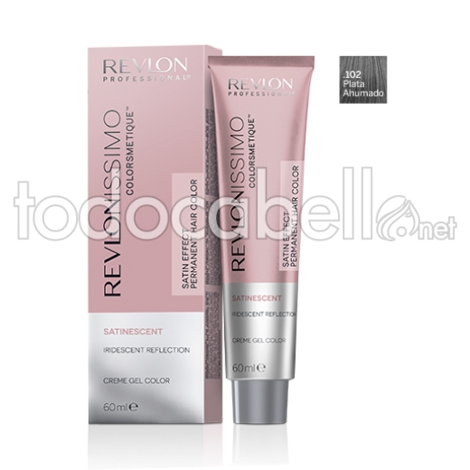 Revlonissimo Colorsmetique Satinescent .102 Smokey Silver 60ml