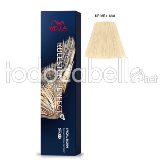 Wella Koleston Perfect ME+ Special Blonde 12/0 Superaclarante Rubio Natural 60ml + 2 Welloxon Crema Activadora 60ml