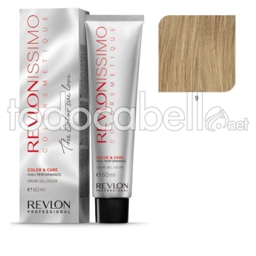 Tinte Revlonissimo Colorsmetique 9 Rubio Muy Claro 60ml.