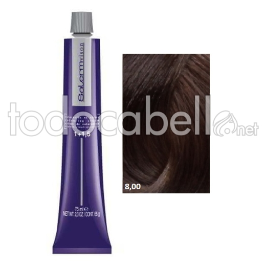 Tinte Salermvison 8,00 Rubio Claro 75ml