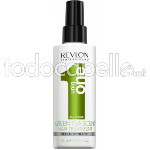 Revlon Uniq One 10 En 1 TE VERDE Professional Hair Treatment 150ml 1