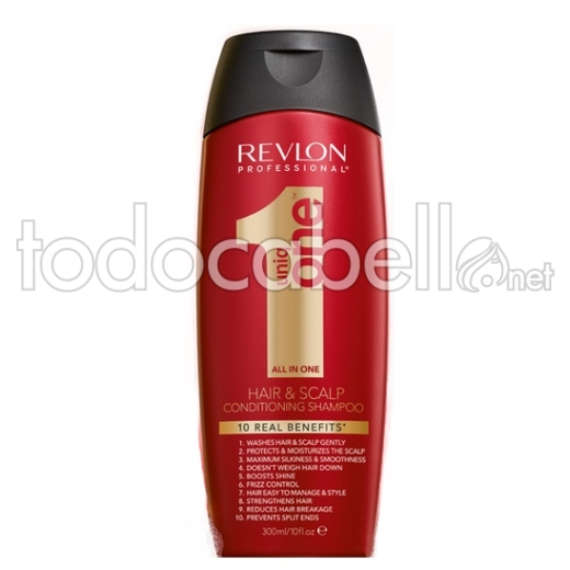 Revlon Uniq One Hair&Scalp Champú  300ml