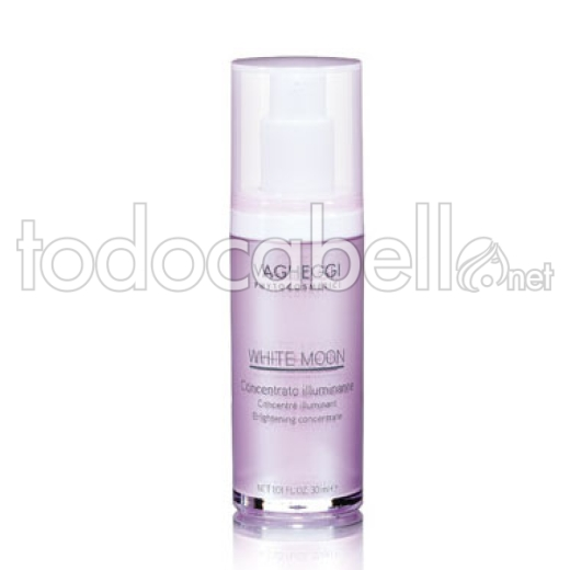 VAGHEGGI WHITE MOON Concentrado iluminador facial 30ml