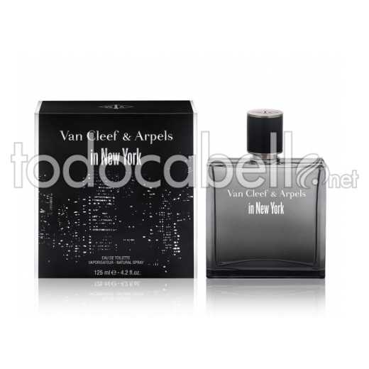 Van Cleef & Arpels In New York Homme Edt 125ml Vapo