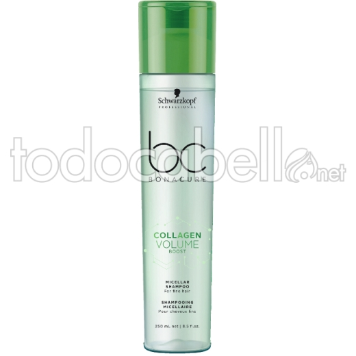 Schwarzkopf Bonacure BC Collagen Volume Boost Champú Micelar 250 ml