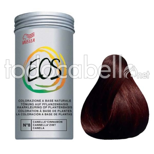 Wella Coloración Vegetal EOS Nº8 Canela 120gr.