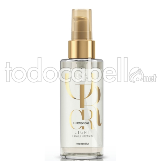 Wella Oil Reflections Luminous Light Aceite Realzador Brillo para cabello fino/normal100ml