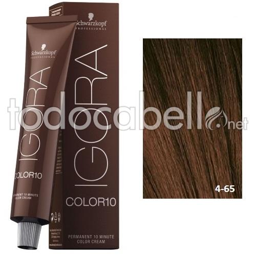 Schwarzkopf Tinte Igora Color10 4 65 Marr 243 N Chocolate 60ml