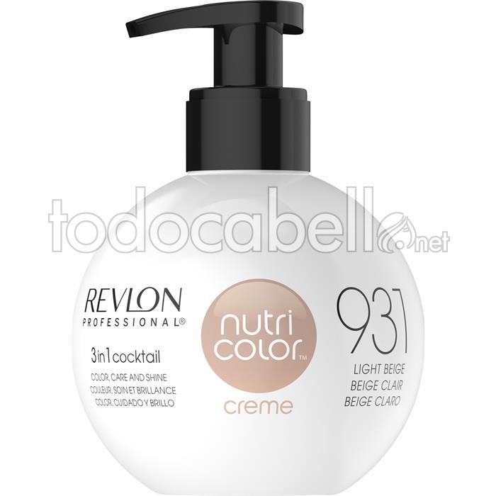 Revlon nutri color creme 931 250ml - Color beige claro ...