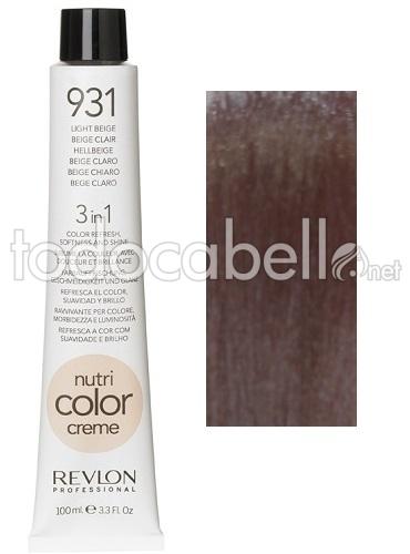 Revlon nutri color creme 931 100ml - Color beige claro ...